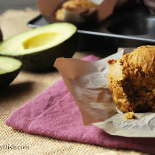 Avocado Pumpkin Muffins.