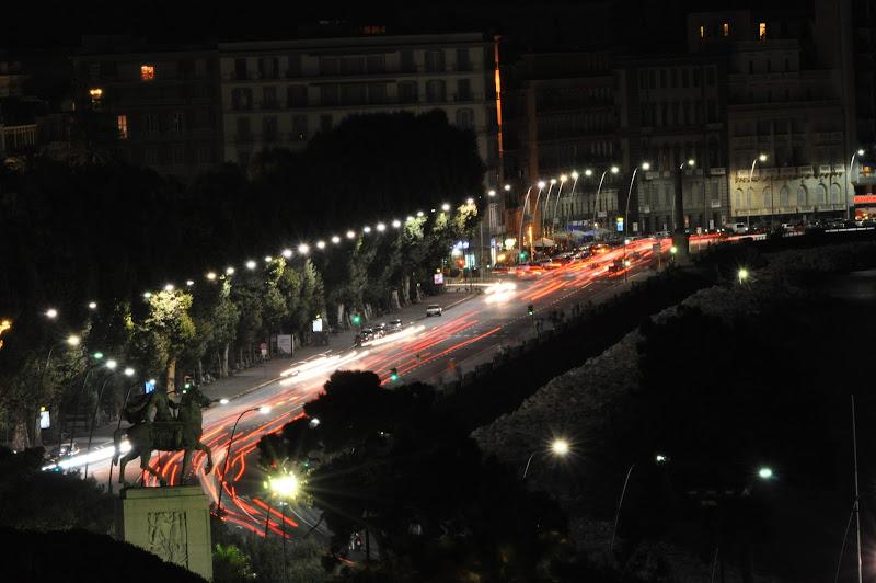 Napoli - Via Caracciolo in scia.... di Francesco Di Maio