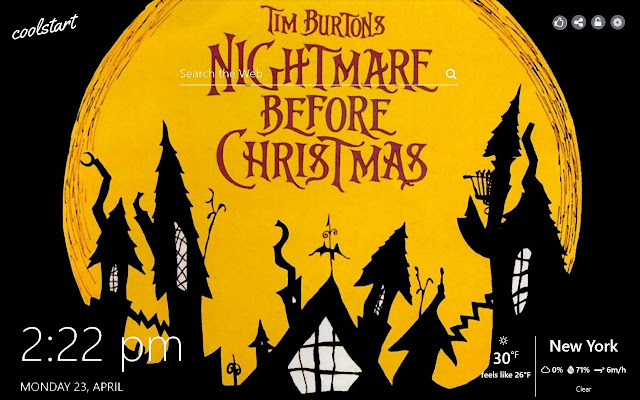 Nightmare Before Christmas Hd Wallpaper.Nightmare Before Christmas Hd Wallpaper Theme