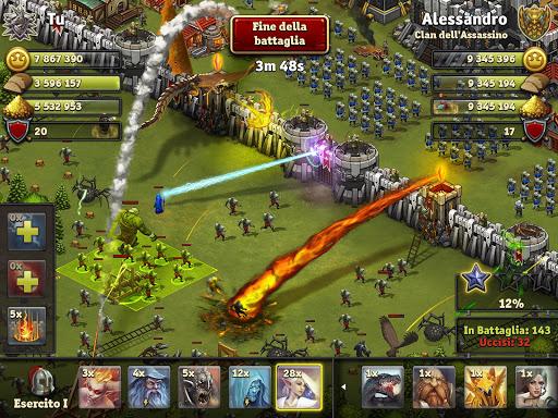 Throne Rush  άμαξα προς μίσθωση screenshots 1