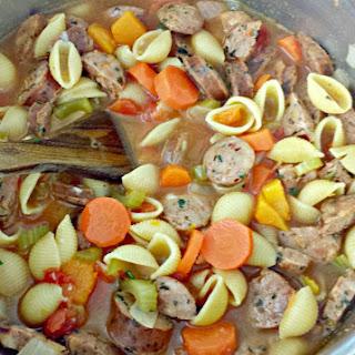 Chicken Sausage Soup.