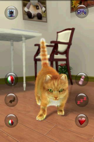 Talking Lovely Cat apkpoly screenshots 1