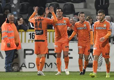 Charleroi s'impose à Eupen sur le fil et peut remercier Perbet