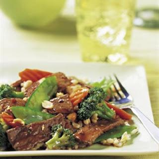 Szechuan Beef Stir-Fry.