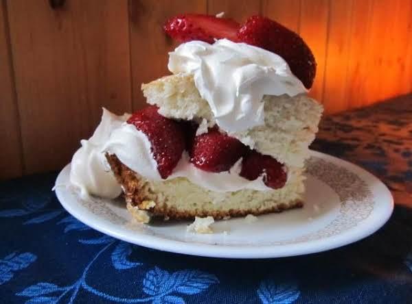 Home Made Shortcake & Cream Topping