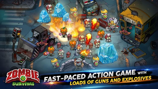 ApkMod1.Com Zombie Survival 2019 Game of Dead + Mod (Unlimited Gold Diamonds Energy) for Android Arcade Game