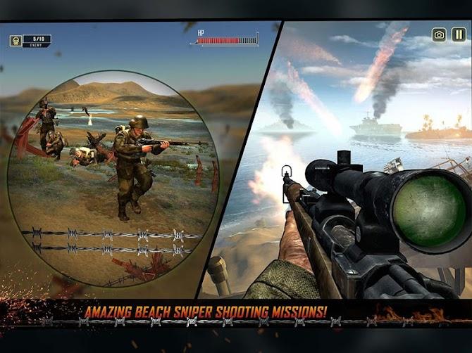 WW2 Survival War Prisoner : FPS Shooting Game Android 12
