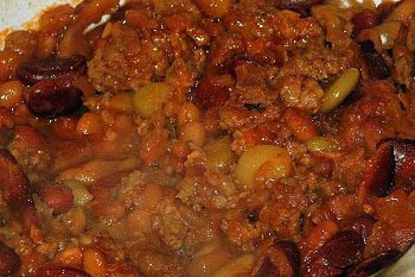 Texas Beans With Bacon Recipe