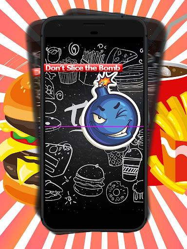 Fast Food Fight - Yummy Slicing Game to Slice Food cheat screenshots 4