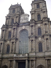 Photo: St. Pierre Cathedral is the third one built on this site. The imposing facade was completed in 1704, while the interior is from the 19th century.