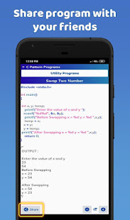 C Pattern Programs Free