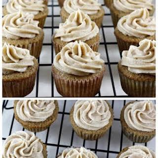 Vanilla Chai Cupcakes.