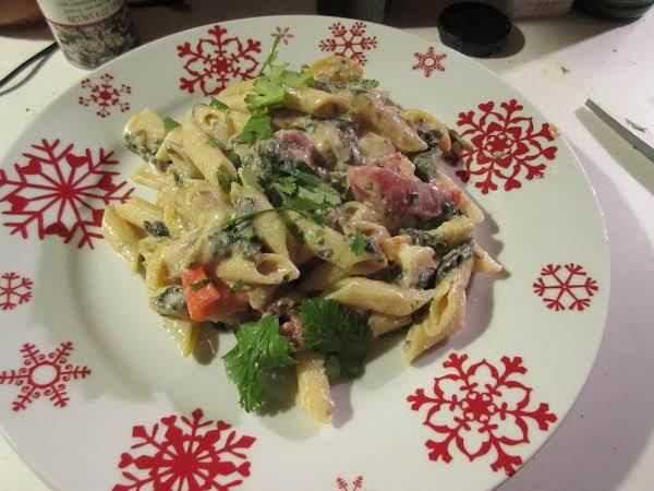 Spinach Ricotta Macaroni