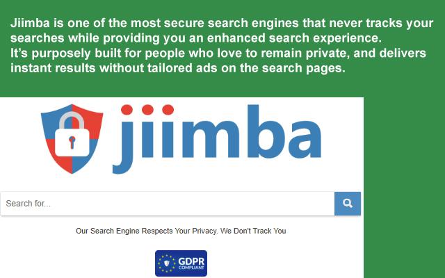 Jiimba Private Search Engine