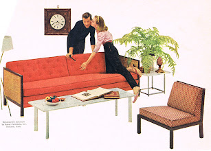 Photo: The next picture shows the same sofa and chair in another color scheme