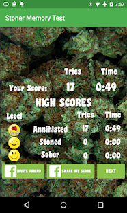 Stoner Memory Test: Weed Brain- screenshot thumbnail