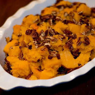 Roasted Butternut Squash with Pecans.