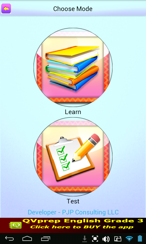 QVprep Lite English Grade 3- screenshot