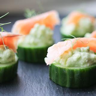 Cucumber Canapes Recipes.