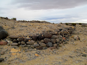 Photo: Rock retaining wall at the CCC camp