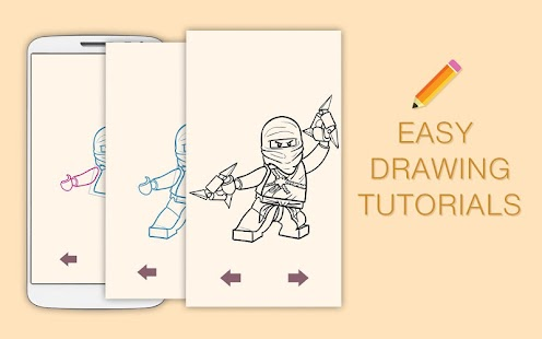 how to draw lego figures