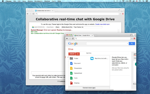 Chat Drive Real Time Chat With Drive