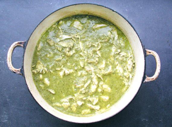 St. Pat's Green Chicken Chili Recipe