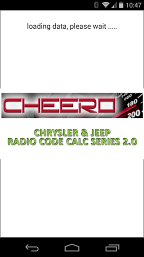 CHRYSLER & JEEP RADIO CODE CALC UCONNECT MYGIG VP4 Hack, Cheats