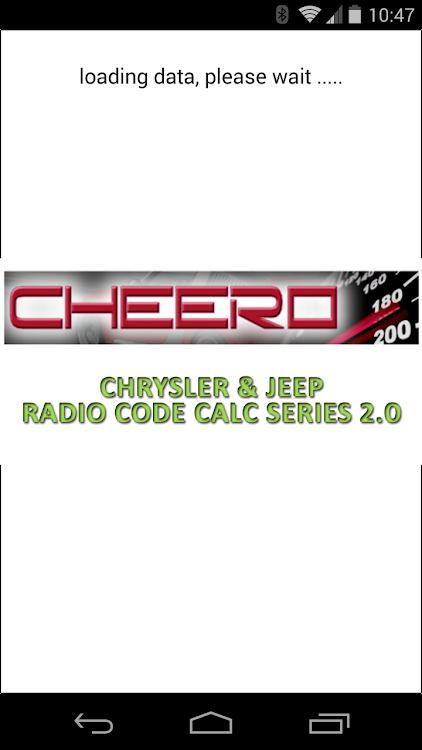 CHRYSLER & JEEP RADIO CODE CALC UCONNECT MYGIG VP4 – (Android