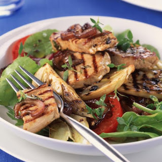 Grilled Mediterranean Tuna