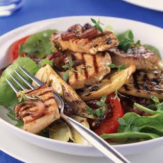 Grilled Mediterranean Tuna.