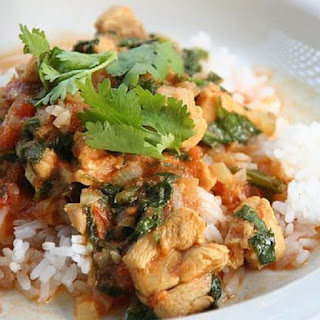 Slow Cooker Fragrant Chicken Curry.
