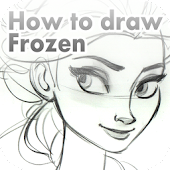 How to draw Frozen