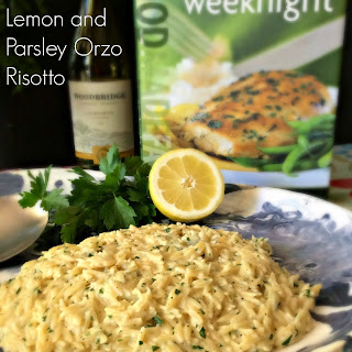 Lemon and Parsley Orzo Risotto