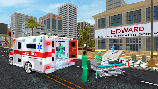 City Ambulance Rescue Simulator Games Screenshot