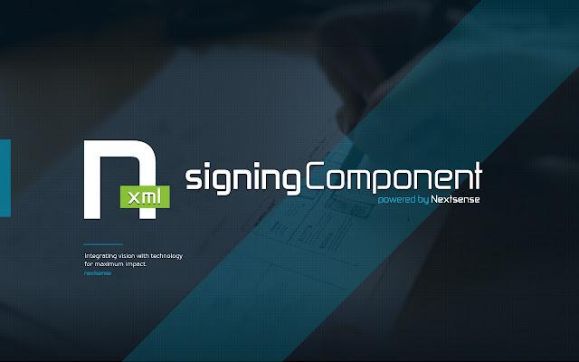 Nextsense XML Signing Component