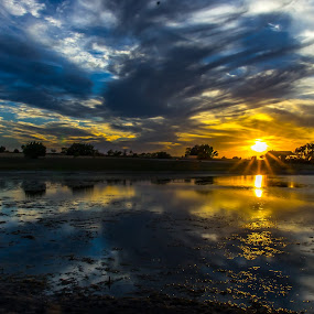 by Robert Marquis - Landscapes Sunsets & Sunrises ( clouds, mother, nature, color, sunset, sunsets, colors, texas, bob marquis, landscape, landscapes )