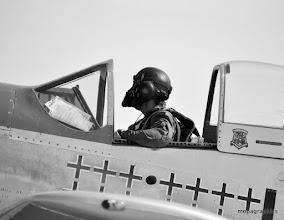 """Photo: Ce """"Warbird"""" est le NA P51D """"Mustang"""" avec un V12 de 1520 cv et un son !"""