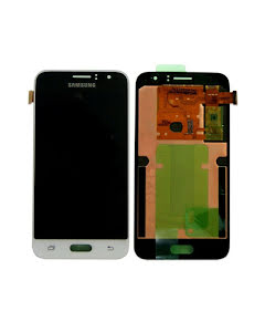 SAMSUNG GALAXY J1 2016 LCD DISPLAY WHITE