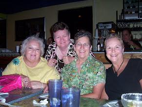 Photo: 2003 Rosemary (Worthy) Dooley, Mary (Traud) Austin, Carol (Craven) Barnes, Susan (Granrath) Quist