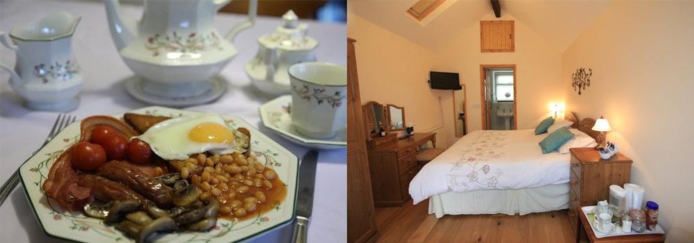 Stay at Forda Farm Bed and Breakfast while in Devon.