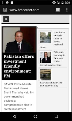News Portal Pakistan 2.1 screenshots 2