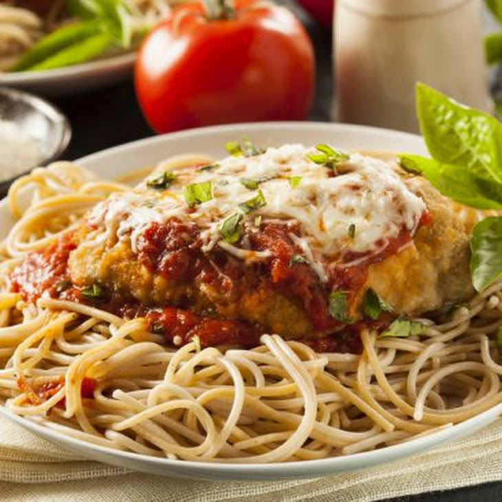 Classic Baked Chicken Parmesan Recipe | Yummly