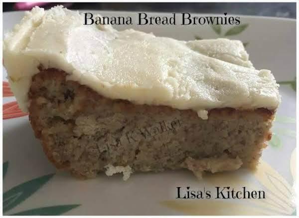Banana Bread Brownies Recipe