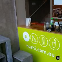 Photo: Nashi Sandwich and Food Bar, Dorcas Street. #windowgraphic #logo #cafe #printedgraphic #windowgraphic #windowdecal