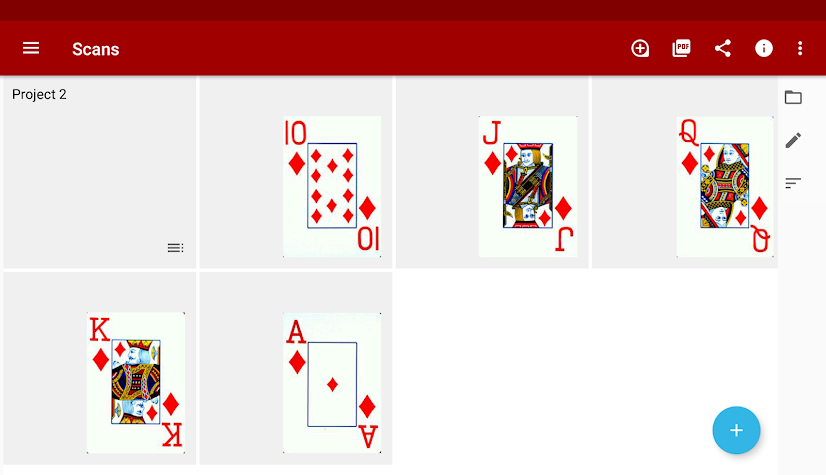 Droid Scan Pro PDF Screenshot