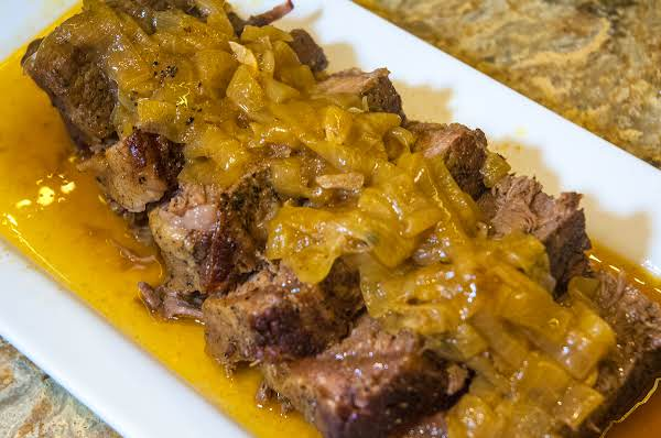 Beef Essentials: Sunday Dinner Onion Gravy Roast Recipe