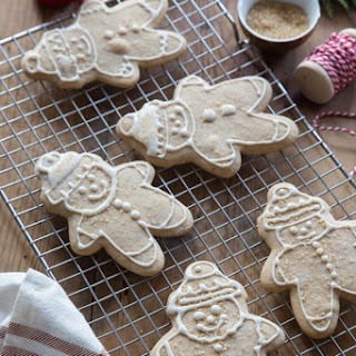 Gingerbread Cookies With Real Ginger.