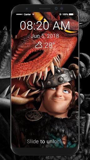 How To Train Your Dragon 2 HD Wallpaper LockScreen Screenshot 8