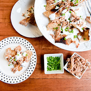 Pulled Tandoori Chicken Nachos for #WeekdaySupper